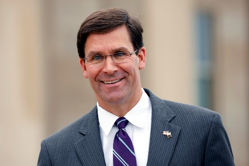 Esper formally nominated to be defense secretary by White House