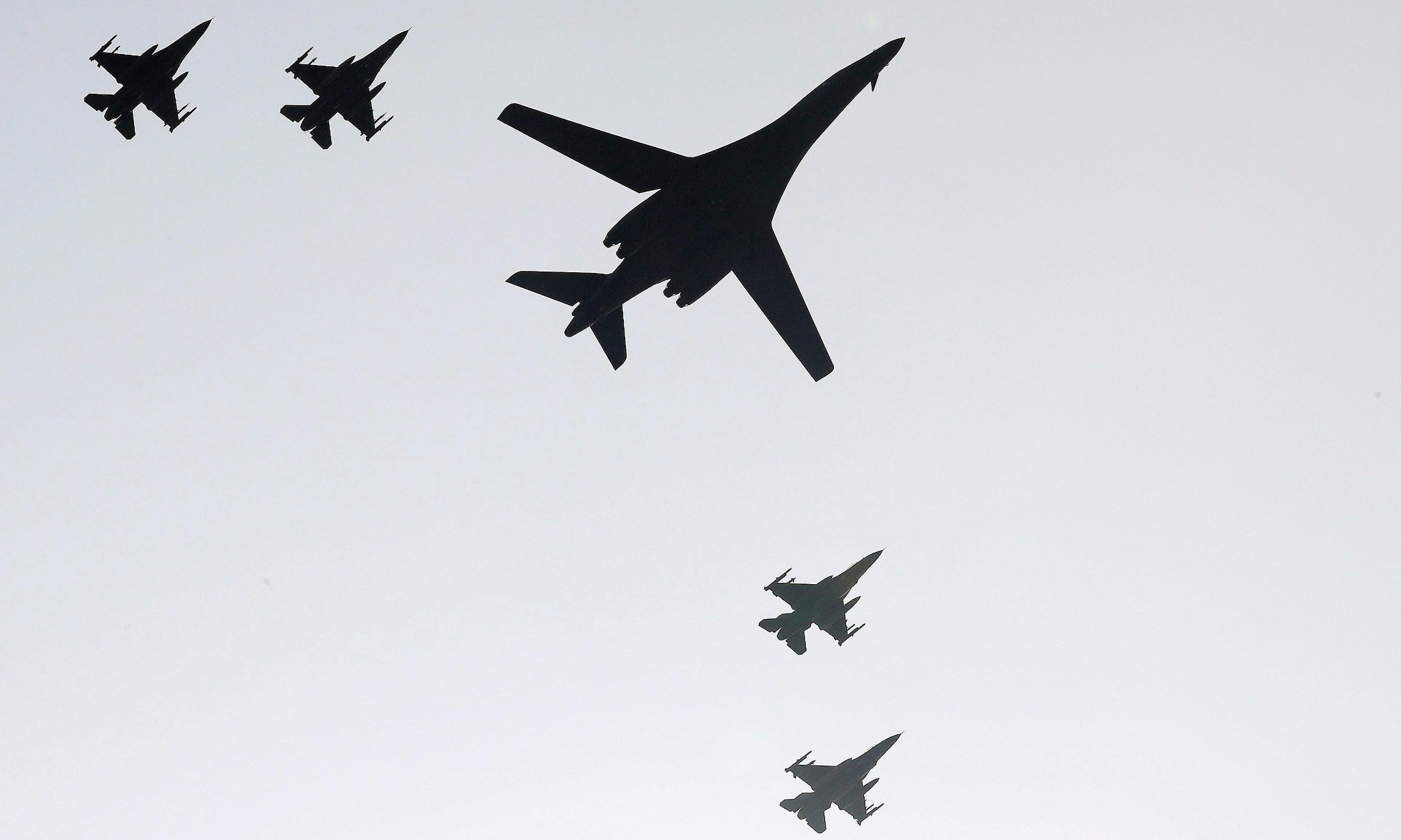 US nuclear bombers fly over Korean peninsula after North's nuclear test