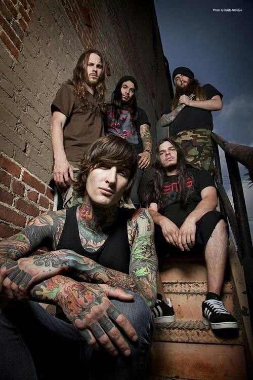 "Suicide Silence is an American deathcore band from Riverside, California. Formed in 2002, the band has released five full-length studio albums, one EP and eleven music videos. They have received a fair amount of praise, being awarded the Revolver Golden God award for ""Best New Talent"" in 2009. The group currently consists of rhythm guitarist Chris Garza, lead guitarist Mark Heylmun, drummer Alex Lopez, bassist Dan Kenny, and vocalist Hernan ""Eddie"" Hermida."