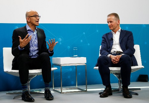 Volkswagen deepens cloud computing partnership with Microsoft