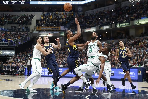 Pacers rally in 4th to down Celtics