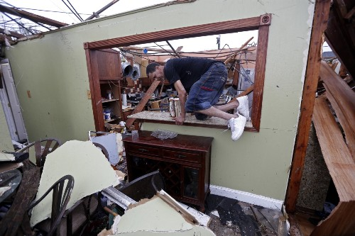 Tornado Rips Through New Orleans: Pictures