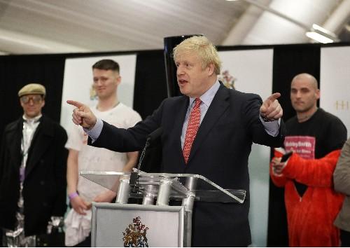 Boris Johnson claims 'powerful new mandate' for Brexit