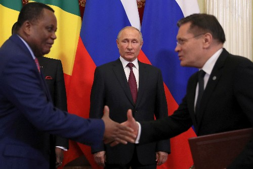 Russia to send military specialists to Congo Republic - Kremlin