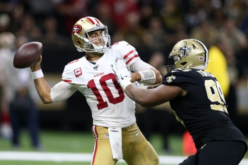 NFL roundup: 49ers win thrilling shootout vs. Saints