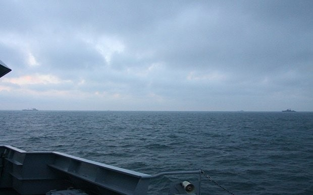 Royal Navy tracks Russian warships in English Channel