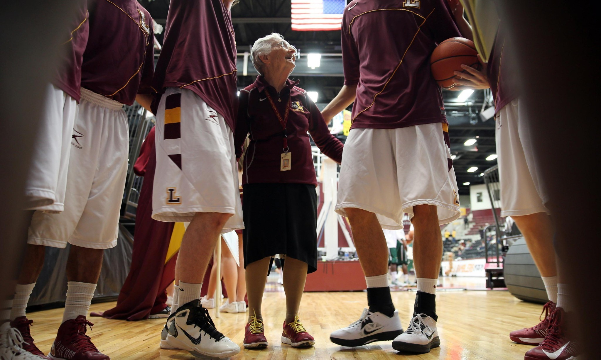 Sister Jean: how a 98-year-old nun became the hottest property in basketball
