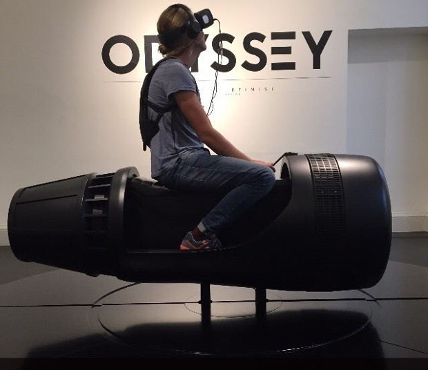 Lift-off! My 90-second ride into the future of virtual reality