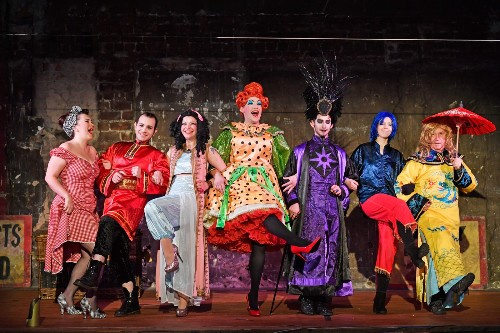 Pantomime of Aladdin Opens in Glasgow: Pictures