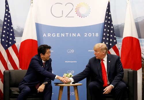 Japan's PM nominated Trump for Nobel Peace Prize on U.S. request - Asahi