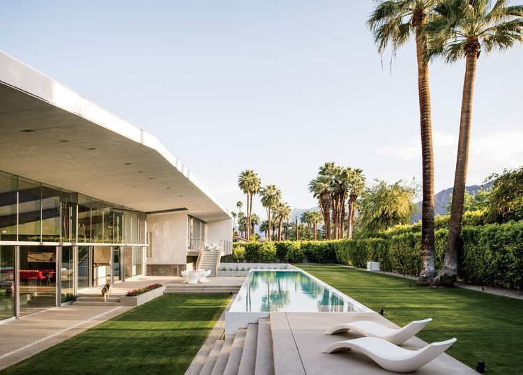 Articles about energy efficient hybrid prefab keeps cool palm springs desert on Dwell.com - Dwell