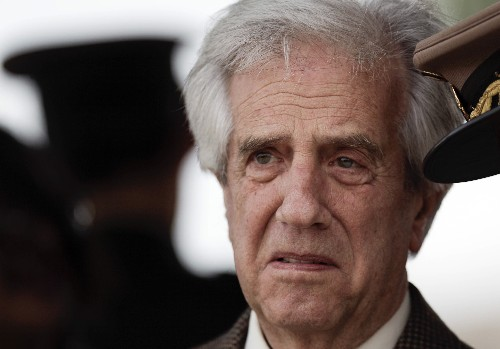 Uruguay's president says he has lung cancer