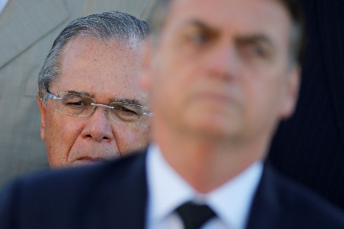 Six months on, Brazil economy guru Guedes' halo is slipping