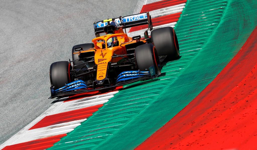 Norris shocked after securing fourth on Austrian GP grid