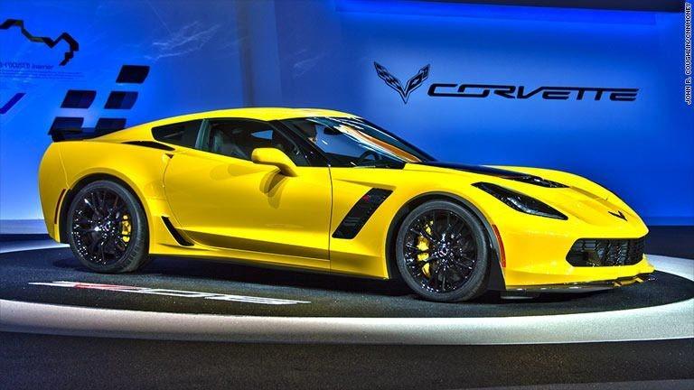 GM reveals 625-horsepower Corvette Z06