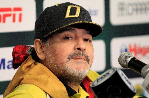 Soccer: Maradona to leave coach role in Mexico for health reasons
