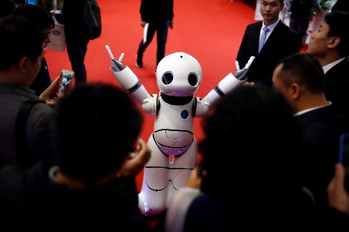 The World Robot Conference in China: Pictures