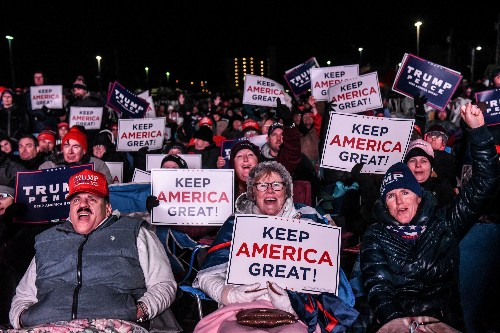 Trump tailgate: New Jersey Republicans pack president's 2020 rally