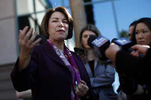 Klobuchar shifts on immigration before Nevada caucuses