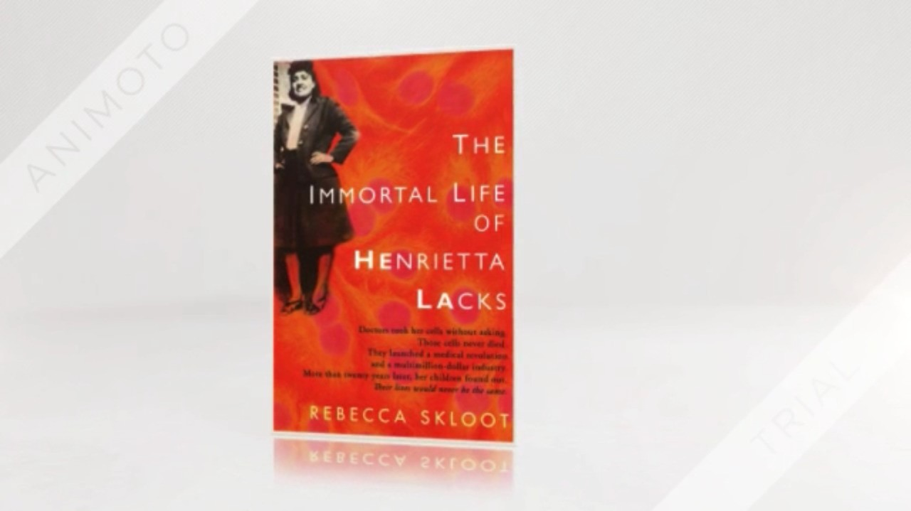 For our summer reading assignment, we were to read a specific book and complete several assignments on that book. I chose to read The Immortal Life of Henrietta Lacks, a book about the woman behind HeLa cells. I am particularly proud of my animoto about this book.
