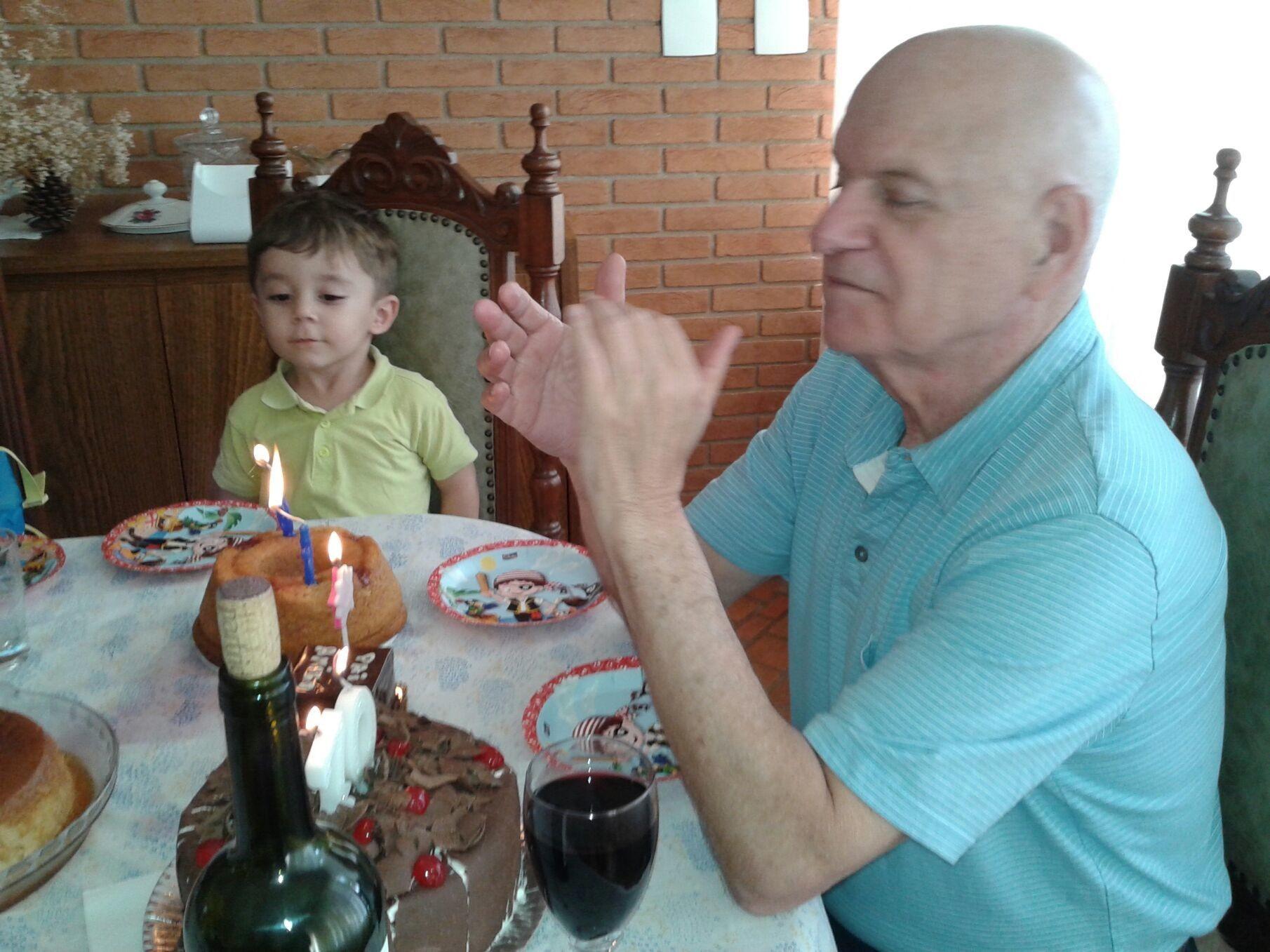Mateus meu neto será testemunha de uma nova geração que está apenas começando