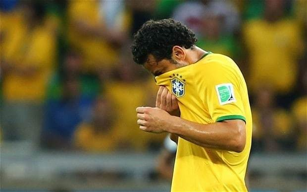 Fred describes Brazil's 7-1 World Cup 2014 defeat to Germany as 'a scar that will live with us forever'