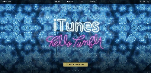 Apple Launches A New Tumblr Site Promoting iTunes