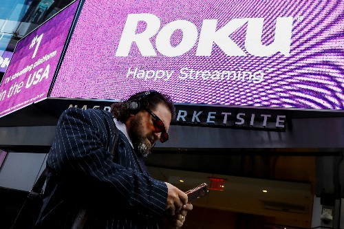 Roku connects with investors in debut, shares soar over 67 percent
