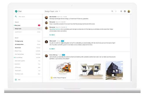 Google's Slack competitor Hangouts Chat is launching for businesses as part of G Suite