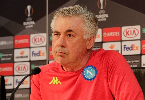 Soccer: Ancelotti demands courage, intelligence and heart from Napoli