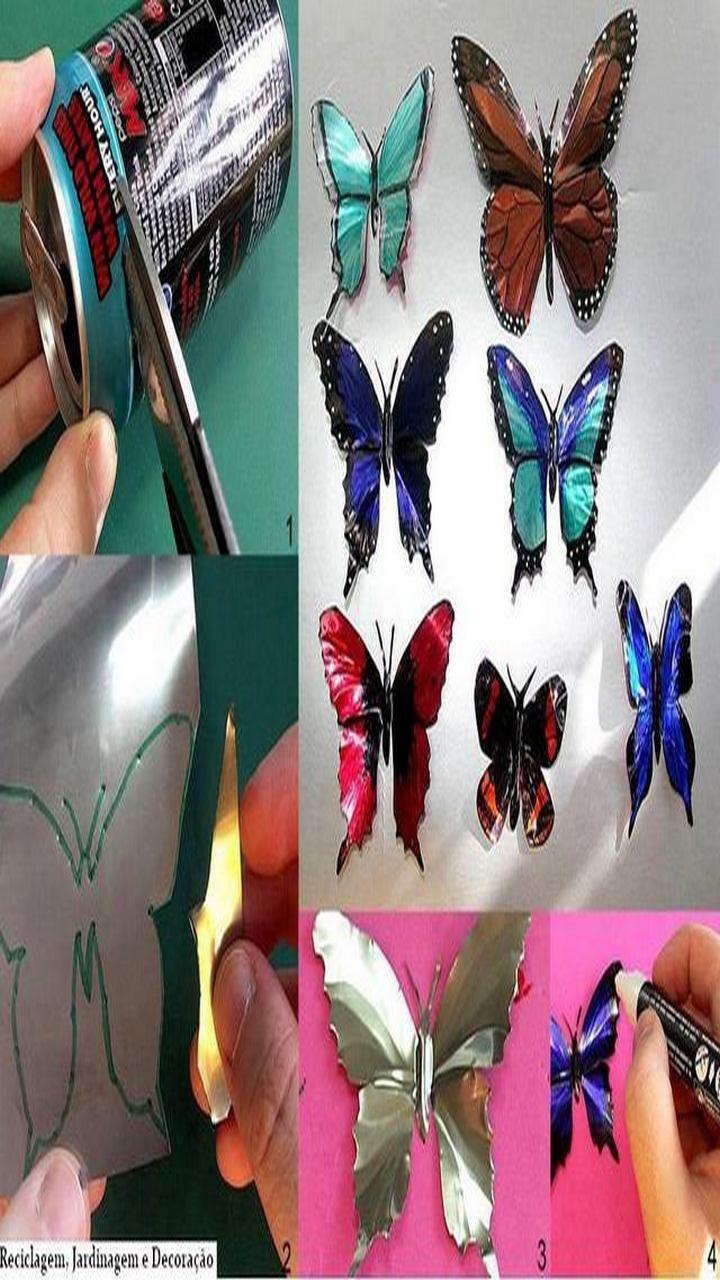 butterfly craft, great idea