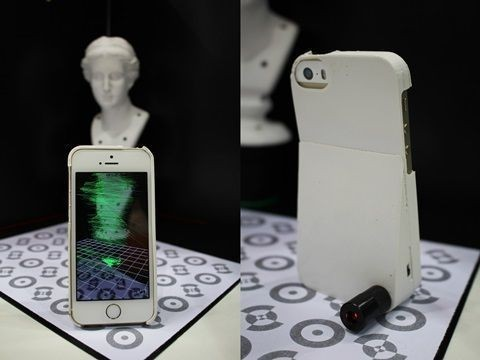 ETRI, 아이폰용 3D 스캐너 첫 공개