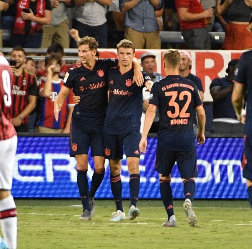 Bayern Munich top AC Milan at International Champions Cup