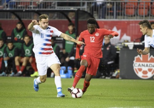 Canada rolls past USA in CONCACAF Nations League