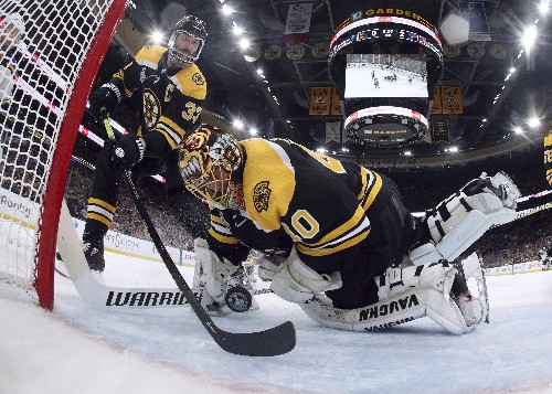 Bruins fall apart and give up early goals in Game 7 loss