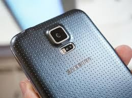 This the back of samsung galaxy s5