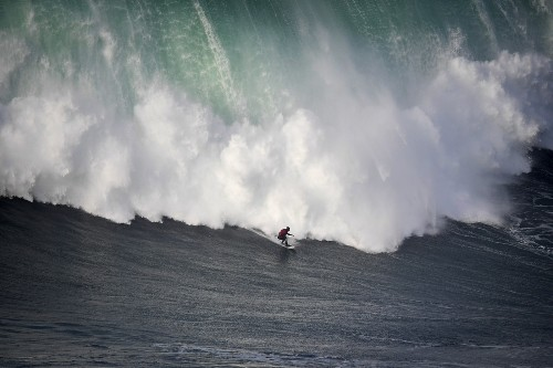 Surfing the Big Waves in Portugal: Pictures