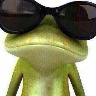 das das ein Frosch ist ist interessant