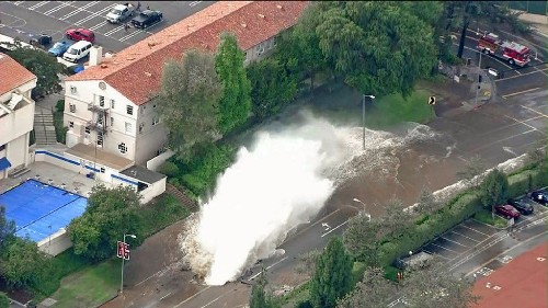 UCLA's Pauley Pavilion flooded after water main break