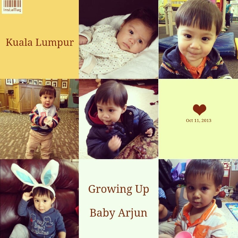 Baby Arjun's growing up be a little cutie boy B-) hey~ sweety don't forget us... and take care Arjun Sharma's Family in Canada. we will miss u all in here ❤