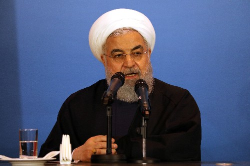 Rouhani says U.S. must lift pressure and apologise before Iran will negotiate