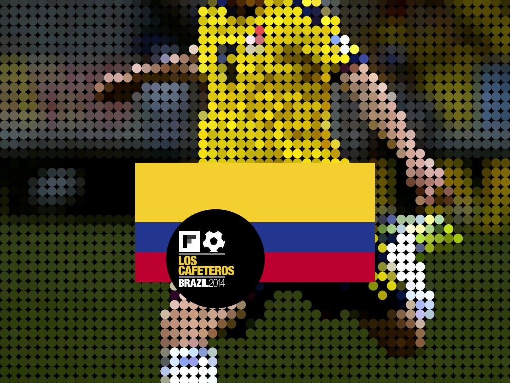 Colombia: World Cup 2014 - cover