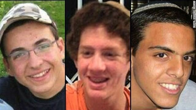 Israel's Netanyahu says of slain teens: 'May God avenge their blood'