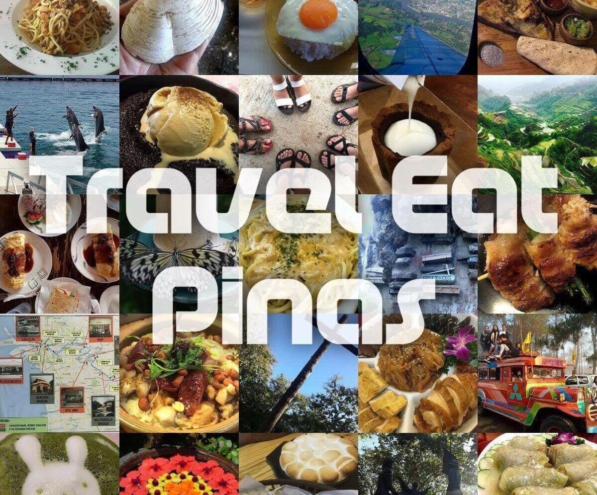 Explore the Philippines with TRAVEL EAT PINAS - Magazine cover