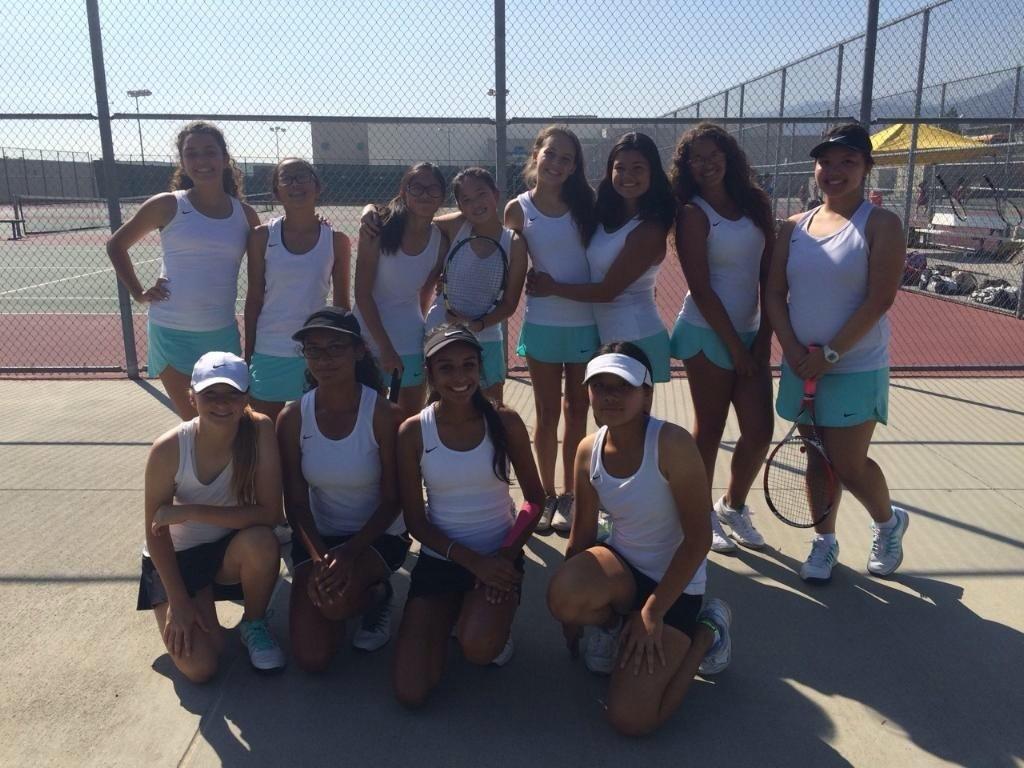 JV Girls Tennis Team