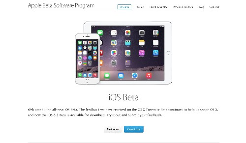 Apple Launches A Public Beta Program For iOS