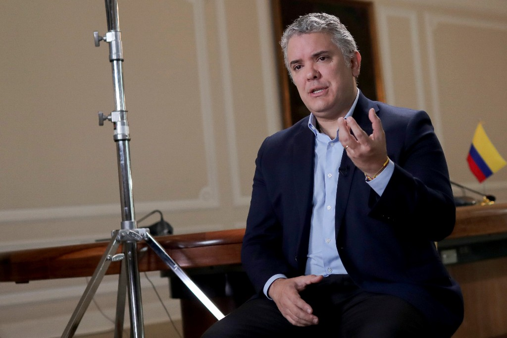 Venezuela is a health 'time bomb,' Colombian president says