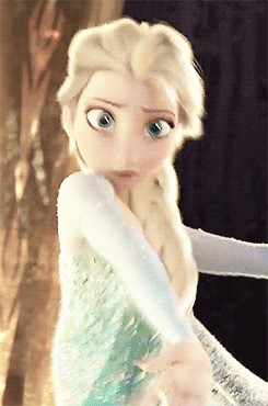 Elsa has ice powers.