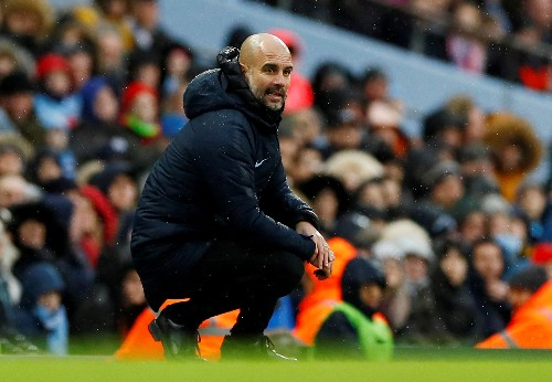 Soccer: Guardiola expects Man City to suffer in tricky trip to Newport
