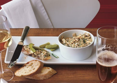 Potted Chicken Rillettes